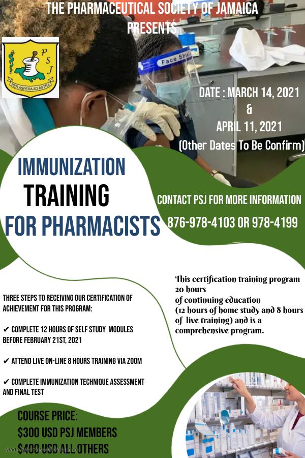 Immunization Training for Pharmacists