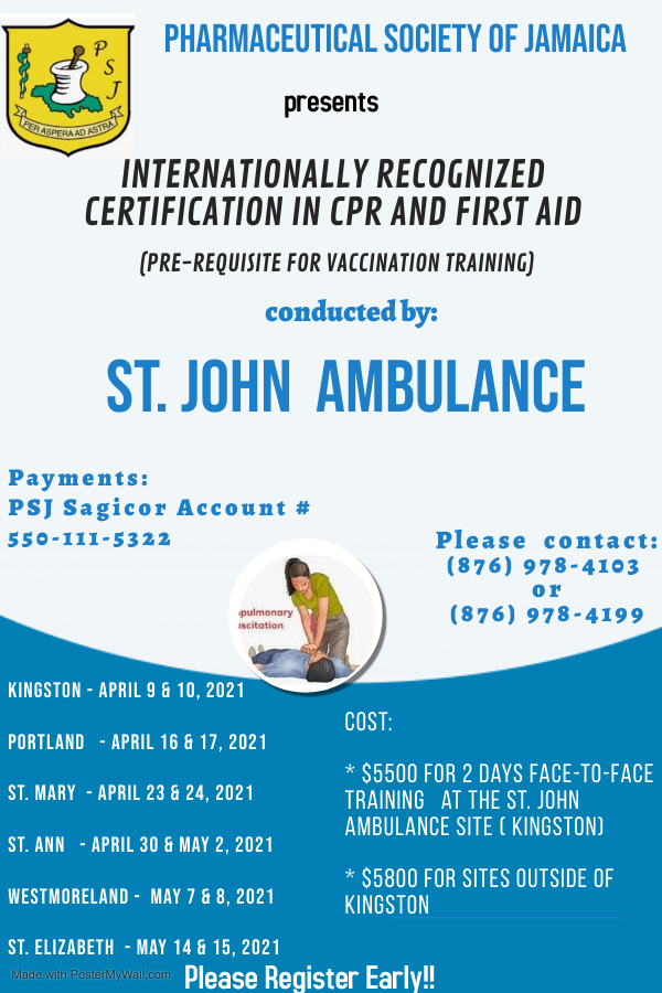 CPR & First Aid Training – St Johns Ambulance