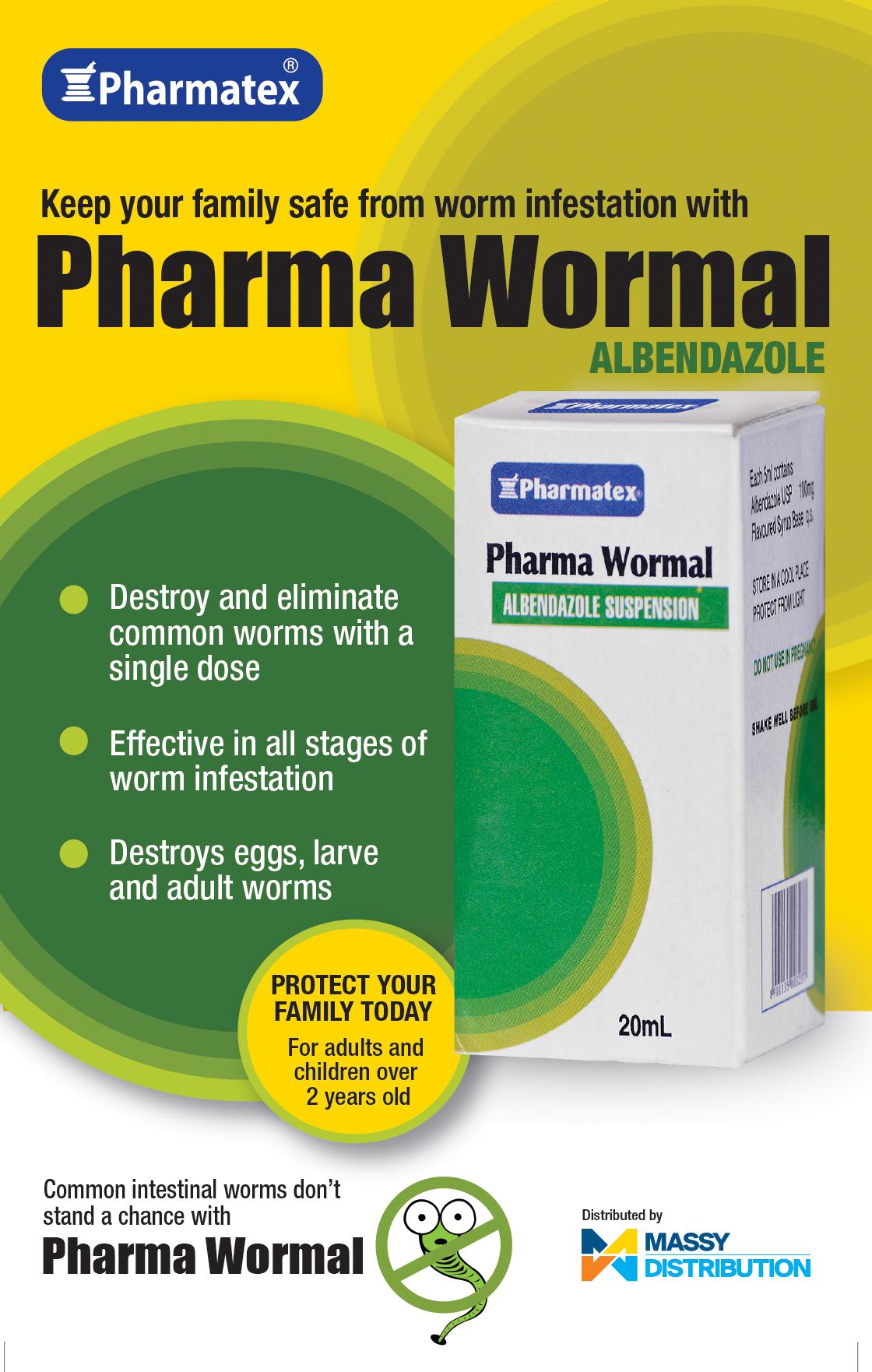 Pharma Wormal Flyer